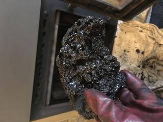Creosote tar removal york