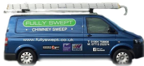 fully swept chimney sweep
